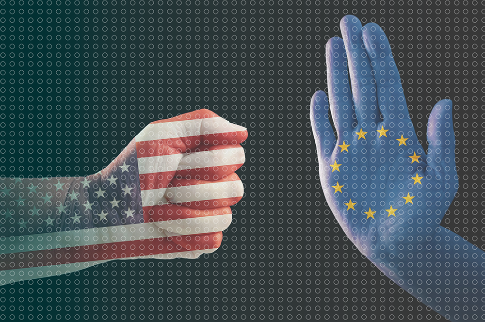 us fist and eu palm