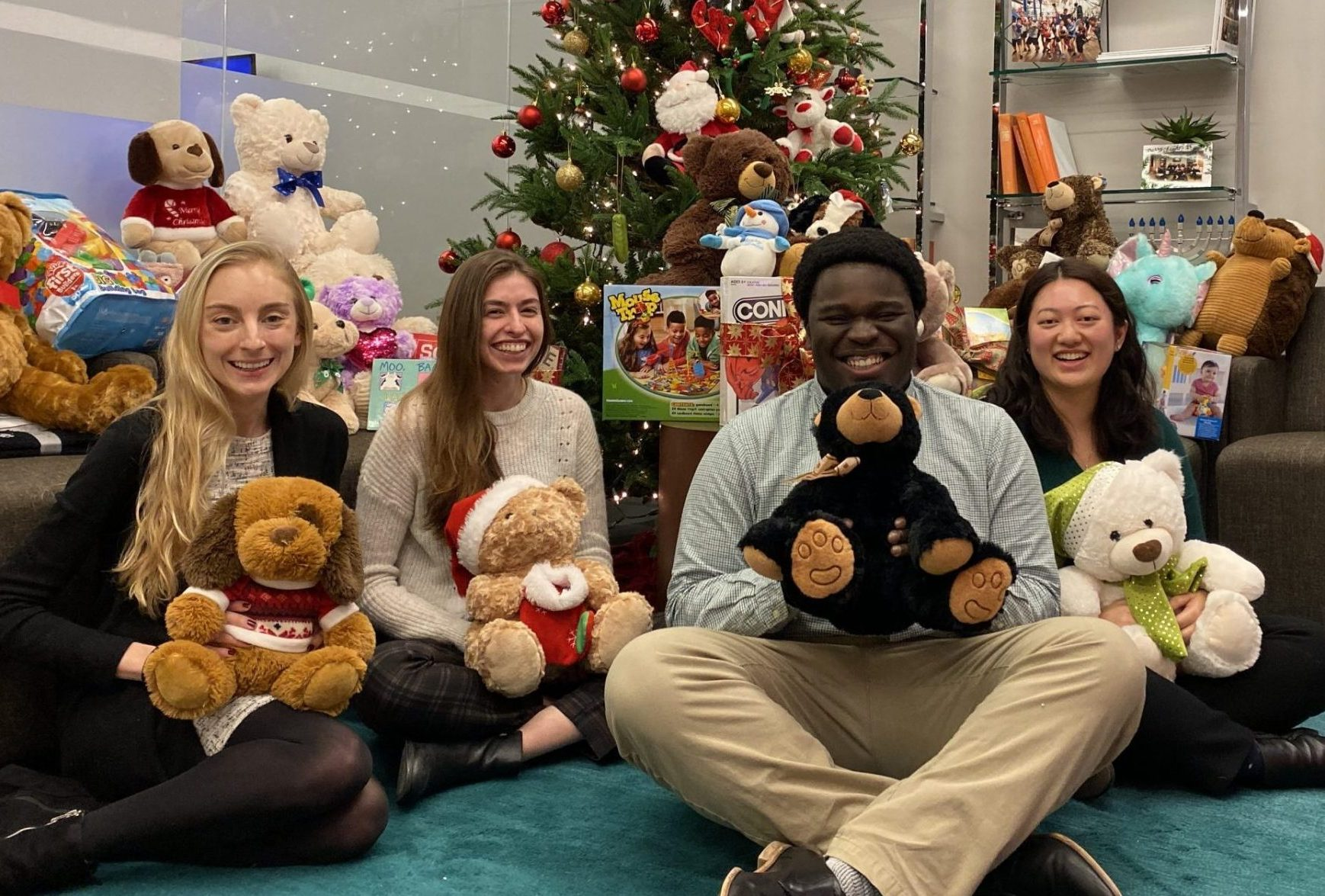 CBPartners team raise money to deliver Christmas gifts to patients in Mount Sinai Hospital