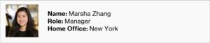 International Women's Day 2021 - Marsha Zhang